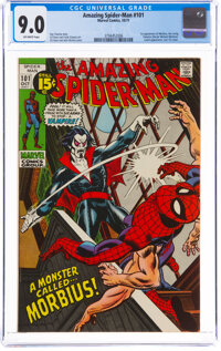 The Amazing Spider-Man #101 (Marvel, 1971) CGC VF/NM 9.0 Off-white pages