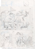 """Original Comic Art:Miscellaneous, John Romita Sr. Amazing Spider-Man Annual #5 Unpublished Pages from """"Here We Go-A-Plotting!""""..."""