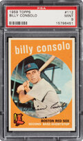 Baseball Cards:Singles (1950-1959), 1959 Topps Billy Consolo #112 PSA Mint 9 - None Higher!