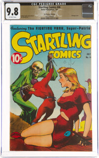 Startling Comics #46 The Promise Collection Pedigree (Better Publications, 1947) CGC NM/MT 9.8 Off-white pages
