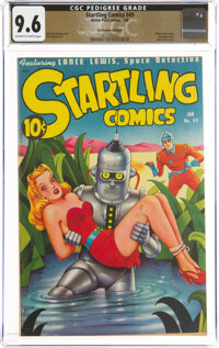 Startling Comics #49 The Promise Collection Pedigree (Better Publications, 1948) CGC NM+ 9.6 Off-white to white pages...
