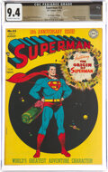 Golden Age (1938-1955), Superman #53 The Promise Collection Pedigree (DC, 1948) CGC NM 9.4 Off-white to white pages....