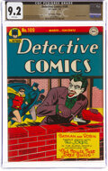 Golden Age (1938-1955), Detective Comics #109 The Promise Collection Pedigree (DC, 1946) CGC NM- 9.2 White pages....