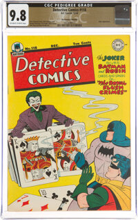 Detective Comics #118 The Promise Collection Pedigree (DC, 1946) CGC NM/MT 9.8 Off-white to white pages