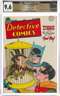 Detective Comics #120 The Promise Collection Pedigree (DC, 1947) CGC NM+ 9.6 White pages
