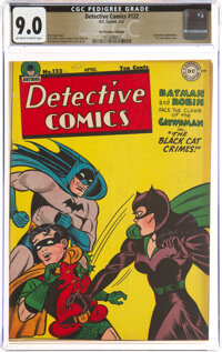 Detective Comics #122 The Promise Collection Pedigree (DC, 1947) CGC VF/NM 9.0 Off-white to white pages