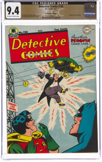 Detective Comics #126 The Promise Collection Pedigree (DC, 1947) CGC NM 9.4 Off-white to white pages