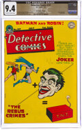 Golden Age (1938-1955), Detective Comics #137 The Promise Collection Pedigree (DC, 1948) CGC NM 9.4 Off-white to white pages....