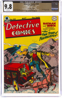 Detective Comics #135 The Promise Collection Pedigree (DC, 1948) CGC NM/MT 9.8 White pages
