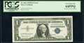 Error Notes:Mismatched Serial Numbers, Mismatched Serial Numbers Error Fr. 1621 $1 1957B Silver Certificate. PCGS Very Choice New 64PPQ.. ...