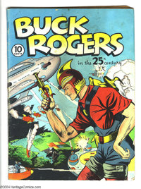 Buck Rogers #1 (Eastern Color, 1940) Condition: GD. Dick Calkins cover. Sunday strip reprints, beginning with strip #290...