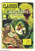Golden Age (1938-1955):Classics Illustrated, Classics Illustrated #40 Edgar Allen Poe Mysteries HRN 62(Gilberton, 1949) Condition: VG/FN. Featuring Mysteries by EdgarA...