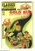 Golden Age (1938-1955):Classics Illustrated, Classics Illustrated #84 The Gold Bug HRN 167 (Gilberton, 1962) Condition: VF-. Featuring The Gold Bug and Other Stories by ...