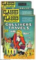 Golden Age (1938-1955):Classics Illustrated, Classics Illustrated Golden Group (Gilberton, 1948-49). This group contains #15 featuring Uncle Tom's Cabin (GD HRN 53), 16 ... (Total: 6 Comic Books Item)