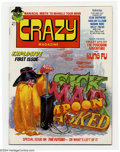 Bronze Age (1970-1979):Humor, Crazy! #1 (Marvel, 1973) Condition: NM-. Marvel's answer to Madmagazine. Basil Wolverton art. Overstreet 2004 NM- 9.2 v...