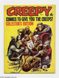 Silver Age (1956-1969):Horror, Creepy (Magazine) #1 (Warren, 1964) Condition: VF-. Firstappearance of Uncle Creepy. First Warren all comics magazine.Jack...