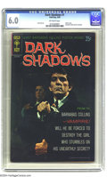 Silver Age (1956-1969):Horror, Dark Shadows #1 (Gold Key, 1969) CGC FN 6.0 Off-white pages. Photocover. Barnabas Collins poster included. Joe Certa art. O...