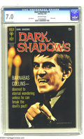 Silver Age (1956-1969):Horror, Dark Shadows #4 (Gold Key, 1970) CGC FN/VF 7.0 Off-white pages.Photo cover. Joe Certa art. Overstreet 2004 FN 6.0 value = $...