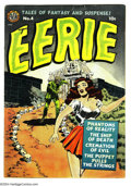 Golden Age (1938-1955):Horror, Eerie #4 (Avon, 1951) Condition: FN. Wally Wood cover. Overstreet2004 FN 6.0 value = $168....