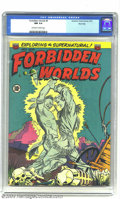 Golden Age (1938-1955):Horror, Forbidden Worlds #9 River City pedigree (ACG, 1952) CGC NM 9.4Off-white to white pages. This copy is a prime example of why...