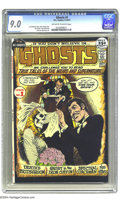 Bronze Age (1970-1979):Horror, Ghosts #1 (DC, 1971) CGC VF/NM 9.0 Off-white to white pages. NickCardy cover. Leo Dorfman story. Jim Aparo, Tony DeZuniga, ...