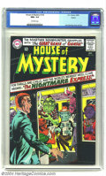Silver Age (1956-1969):Horror, House of Mystery #155 Boston pedigree (DC, 1965) CGC NM+ 9.6Off-white pages. This is the highest grade that CGC has assigne...