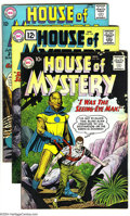 Silver Age (1956-1969):Mystery, House of Mystery Group (DC, 1960-67) Condition: Average VG+. Thisgroup consists of seven comics: #104, 118, 143 (J'onn J'on...(Total: 7 Comic Books Item)