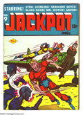 Golden Age (1938-1955):Superhero, Jackpot Comics #9 (MLJ, 1943) Condition: GD+. Last issue. IrvNovick art. Brittle pages. Overstreet 2003 GD 2.0 value = $106...