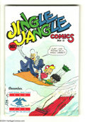 Golden Age (1938-1955):Humor, Jingle Jangle Comics #18 (Eastern Color, 1945) Condition: VG+. No Pie-Face Prince. Overstreet 2004 VG 4.0 value = $20. ...