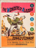 """Movie Posters:Fantasy, The Wonders of Aladdin (MGM, 1961). Rolled, Fine. Poster (30"""" X 40""""). Fantasy.. ..."""