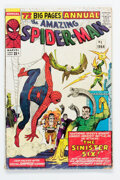 Silver Age (1956-1969):Superhero, The Amazing Spider-Man Annual #1 (Marvel, 1964) Condition: GD/VG....