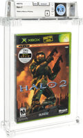"""Halo 2 - Wata 9.2 A Sealed [Microsoft Security Label, """"Do not sell before"""" first print variant], Xbox Microsof..."""