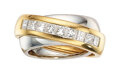 Estate Jewelry:Rings, Cartier Diamond, Gold Ring, French. ...