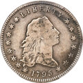 Early Dollars, 1795 $1 Flowing Hair, Two Leaves, B-3, BB-11, R.5, VG10 PCGS....