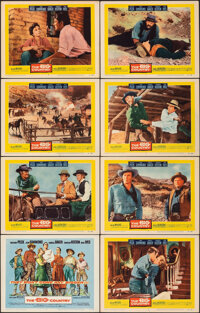 """The Big Country (United Artists, 1958). Very Fine-. Lobby Card Set of 8 (11"""" X 14""""). Western. ... (Total: 8 It..."""