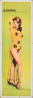 """Cyd Charisse in The Silencers (Columbia, 1966). Rolled, Fine+. Door Panel (20"""" X 60""""). Action"""