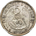 Chile: Republic Restrike Peso 1883-Dated (1925)-So MS64 NGC