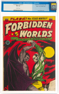 Forbidden Worlds #7 Mile High Pedigree (ACG, 1952) CGC FN 6.0 Off-white pages