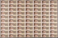 World Currency, China People's Bank of China 1; 2; 5 Jiao; 1; 2; 5; 10 Yuan 1980 Picks 881a; 882a; 883a; 884a; 885a; 886a; 887a Seven Uncut ... (Total: 7 sheets)