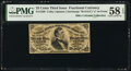Fractional Currency:Third Issue, Fr. 1298 25¢ Third Issue PMG Choice About Unc 58 EPQ.. ...