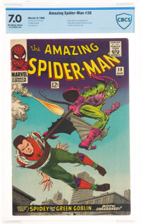 The Amazing Spider-Man #39 (Marvel, 1966) CBCS FN/VF 7.0 Off-white pages