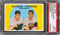 """Baseball Cards:Singles (1950-1959), 1959 Topps """"Pitching Partners"""" #291 PSA Mint 9 - None High..."""