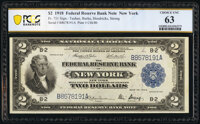 Fr. 751 $2 1918 Federal Reserve Bank Note PCGS Banknote Choice Unc 63