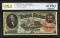 Large Size:Legal Tender Notes, Fr. 42 $2 1869 Legal Tender PCGS Banknote Very Fine 30 PPQ...