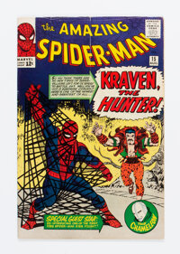 The Amazing Spider-Man #15 (Marvel, 1964) Condition: FN-