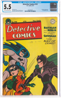 Detective Comics #122 (DC, 1947) CGC FN- 5.5 Tan to off-white pages