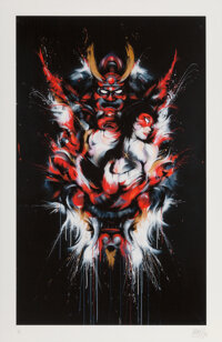 MEGGS (David Hooke) (b. 1978) Year of the Dragon, 2012 Archival pigment print on Fine Art paper 20 x 13 inches (50.8