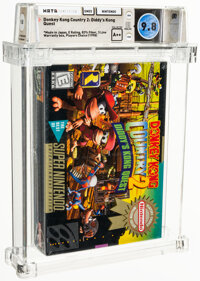 Donkey Kong Country 2: Diddy's Kong Quest (Player's Choice) - Wata 9.8 A++ Sealed [Made in Japan], SNES Nintendo 1995 US...