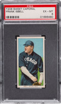 Baseball Cards:Singles (Pre-1930), 1909-11 T206 Sweet Caporal 150/30 Frank Isbell PSA EX-MT 6 - Pop Two, One Higher for Brand/Series/Factory. ...