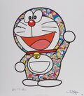 Prints & Multiples, Takashi Murakami X Fujiko F. Fujio. Doraemon: Here We Go!, 2018. Offset lithograph in colors on smooth wove paper. 25-1/...